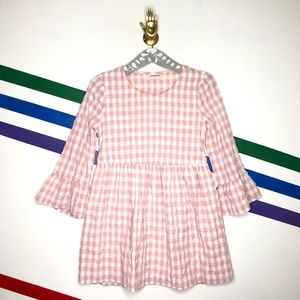 NEW Urban Outfitters gingham babydoll dress